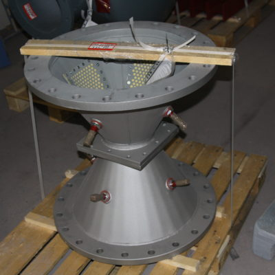 Cone with aerating plates