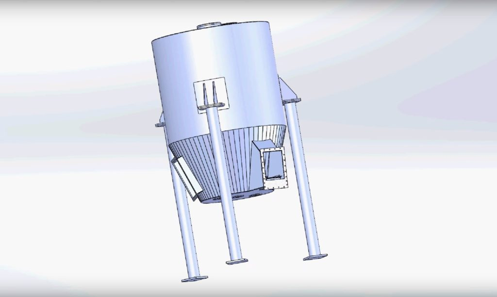 Bulk materials stack and dispenser